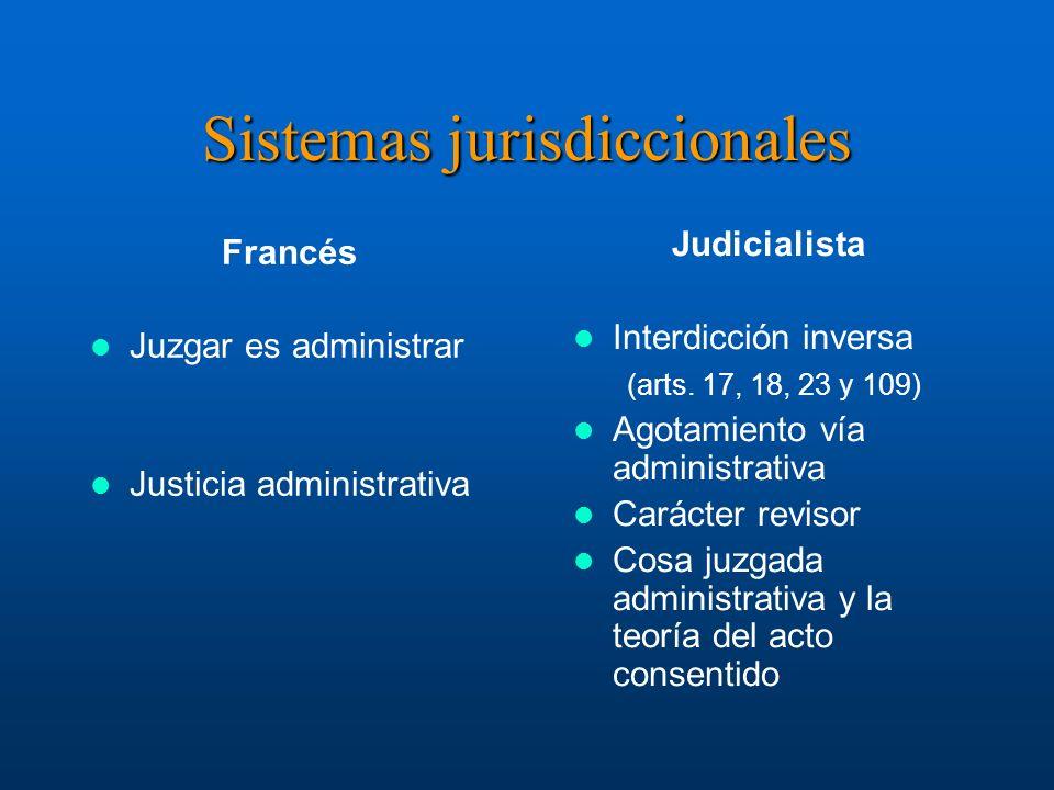Sistemas jurisdiccionales Francés Juzgar es administrar Justicia administrativa Instrucciones: Reemplazar iconos de ejemplo por iconos de documentos a