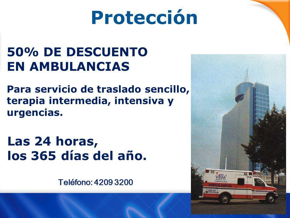CONSULTA A DOMICILIO las 24 hrs., los 365 días del año En las 16 delegaciones incluyendo Naucalpan y Tlalnepantla: $345.00 En la zona conurbada: $500.00 Teléfono: 4209 3200 Protección