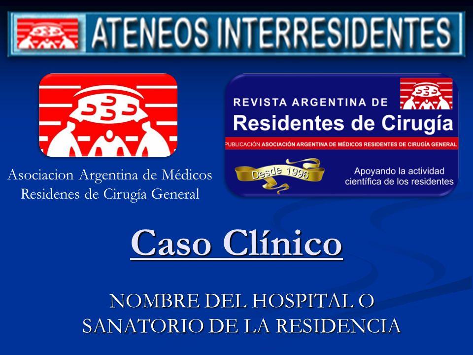 CASO CLINICO Descripción del caso clínico Descripción del caso clínico Ej.