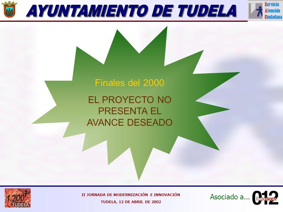 Asociado a...II JORNADA DE MODERNIZACIÓN E INNOVACIÓN TUDELA, 12 DE ABRIL DE 2002 Y...