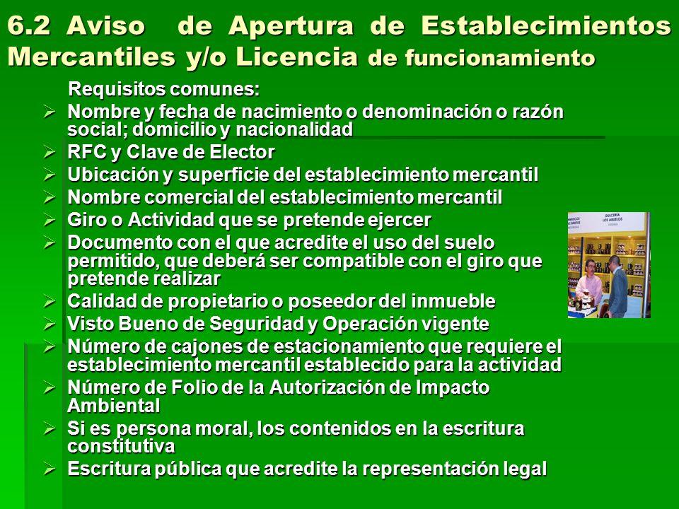 El trámite de Aviso de Apertura, se presenta El trámite de Aviso de Apertura, se presenta vía Internet: www.apertura.df.gob.mx.