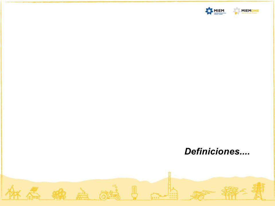 Definiciones....