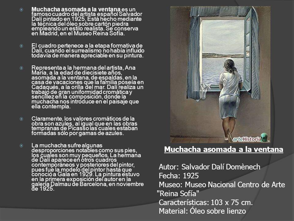 Muchacha asomada a la ventana es un famoso cuadro del artista español Salvador Dalí pintado en 1925. Está hecho mediante la técnica del óleo sobre car