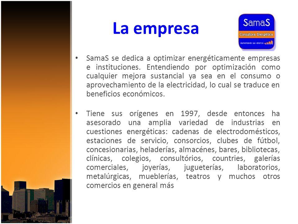 La empresa SamaS se dedica a optimizar energéticamente empresas e instituciones.