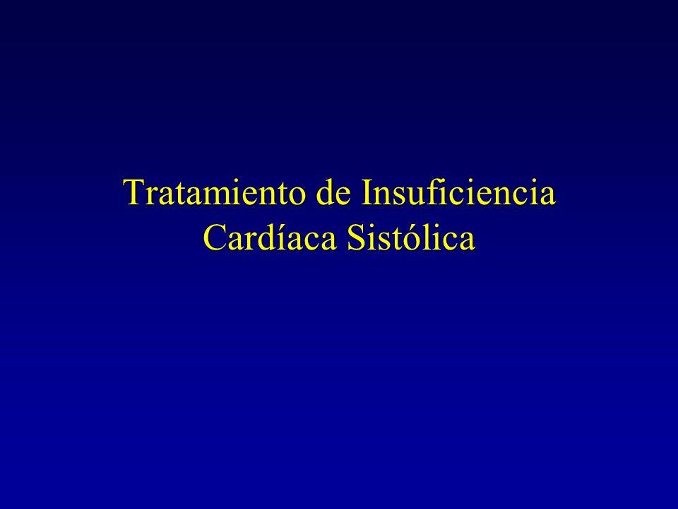 Tratamiento de Insuficiencia Cardíaca Sistólica