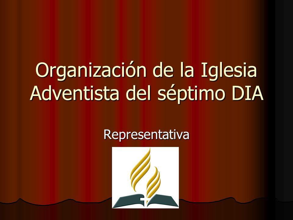 Organización de la Iglesia Adventista del séptimo DIA Representativa
