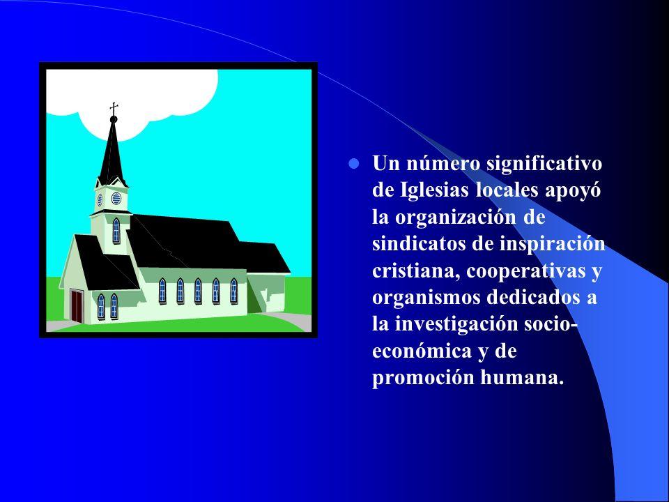 Las Conferencias Episcopales de todos los países de América Latina y el Caribe se pronuncian oficialmente, sobre diversos temas sociales: Desarrollo e integración Justicia y paz Orientaciones sobre política Golpes de Estado Compromiso político de los cristianos Terrorismo Derechos humanos, etc.