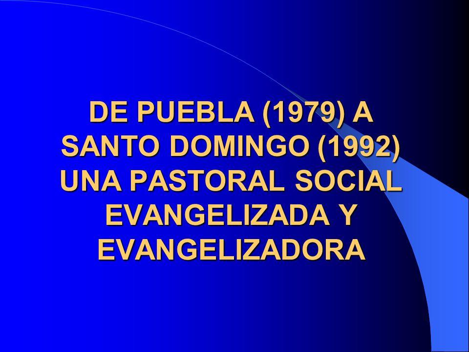 Un número significativo de Iglesias locales apoyó la organización de sindicatos de inspiración cristiana, cooperativas y organismos dedicados a la investigación socio- económica y de promoción humana.