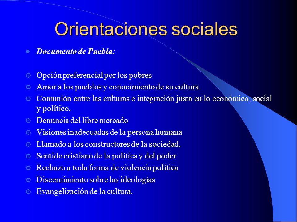 DE PUEBLA (1979) A SANTO DOMINGO (1992) UNA PASTORAL SOCIAL EVANGELIZADA Y EVANGELIZADORA