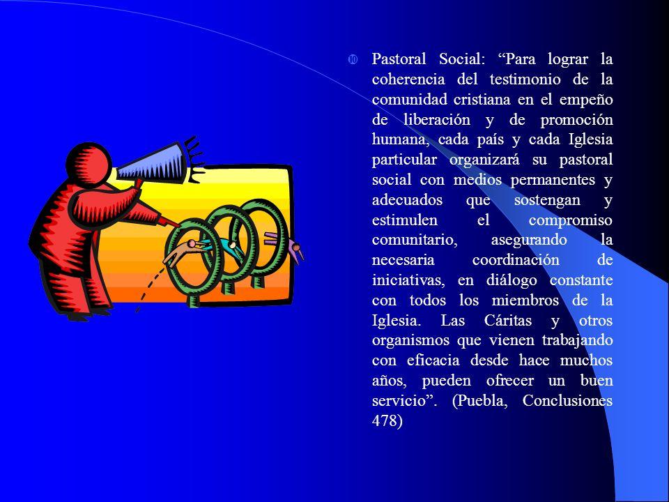 Orientaciones sociales Documento de Puebla: Opción preferencial por los pobres Amor a los pueblos y conocimiento de su cultura.