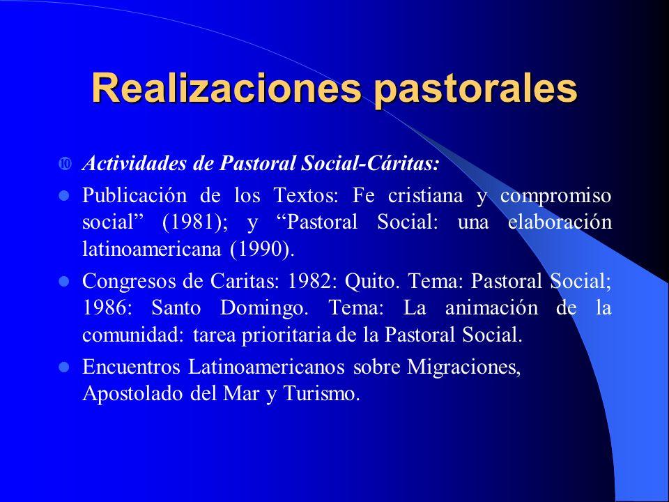 Recomendaciones de las Asambleas del CELAM: Estimular la formación de evangelizadores en el campo de los constructores de la sociedad (1979).