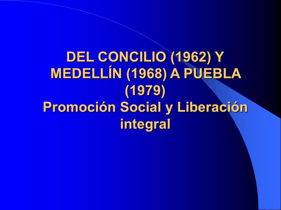 Realizaciones pastorales Creación en el CELAM del Subsecretariado de Acción Social (1956).