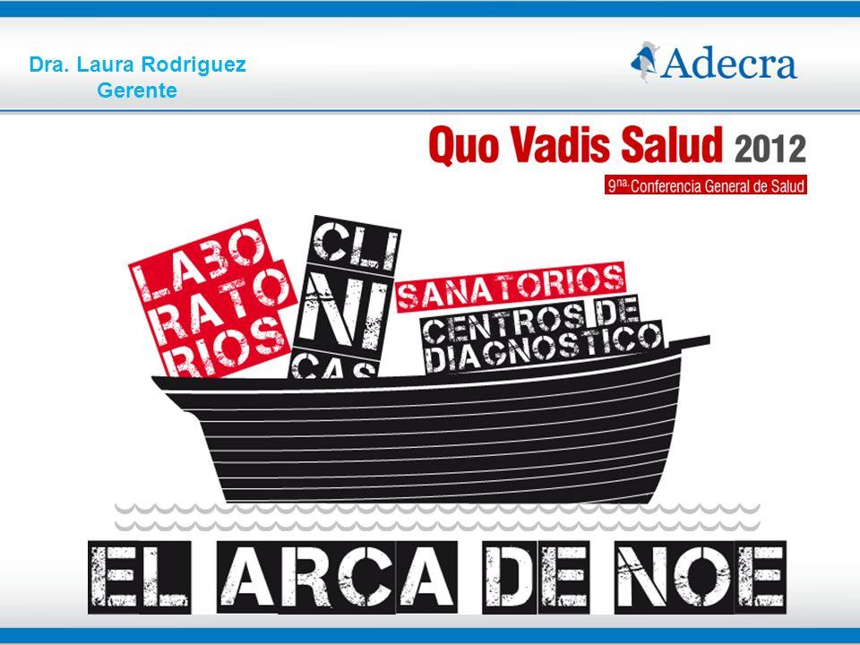 LOS PRESTADORES MEDICOS INSTITUCIONALES EN ARGENTINA PRESTADORES PRIVADOS 10.078 SIN INTERNACIÓN 8.088 CON INTERNACIÓN 1.990 CANTIDAD DE CAMAS > 46,5% del total del país 71.180 153.065 Total del país