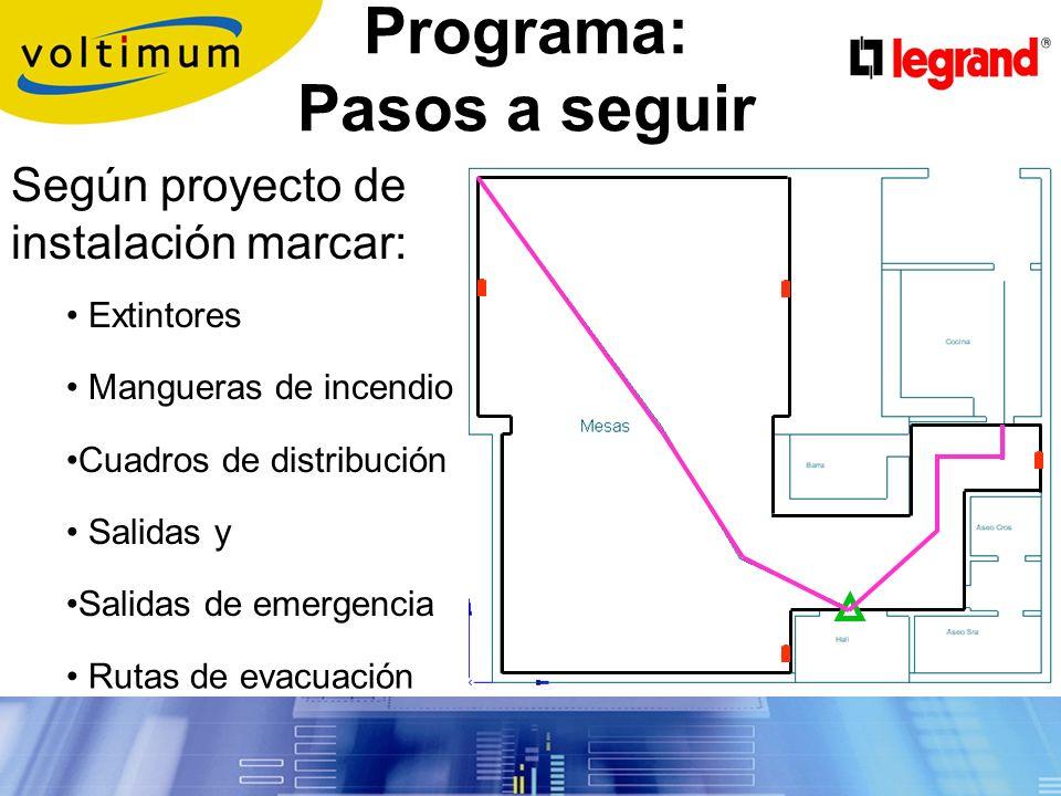 Programa: Pasos a seguir Importar de AutoCAD el plano del local de pública concurrencia para utilizarlo como plantilla.