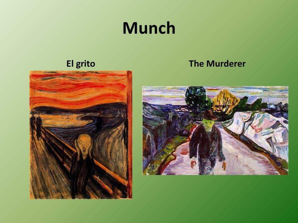 Munch El gritoThe Murderer