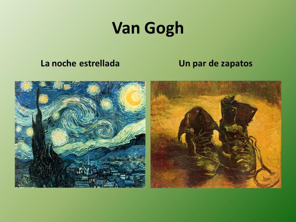 Van Gogh La noche estrelladaUn par de zapatos