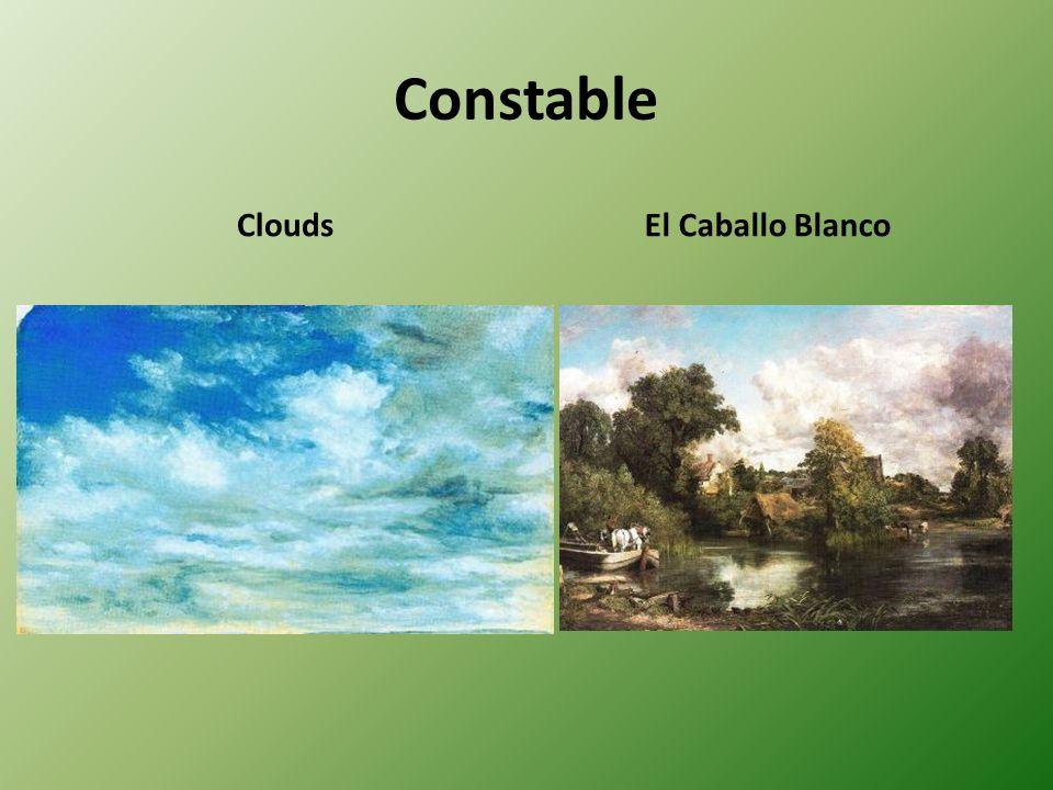 Constable CloudsEl Caballo Blanco