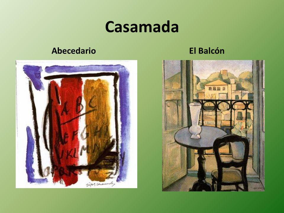 Casamada AbecedarioEl Balcón