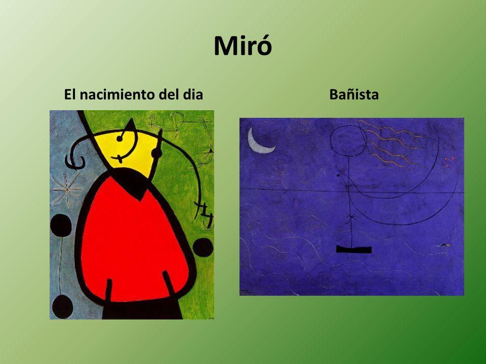 Miró El nacimiento del diaBañista