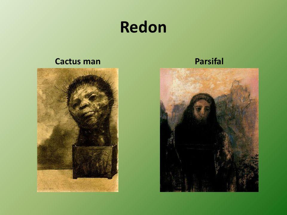 Redon Cactus manParsifal