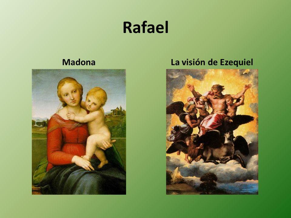 Rafael MadonaLa visión de Ezequiel