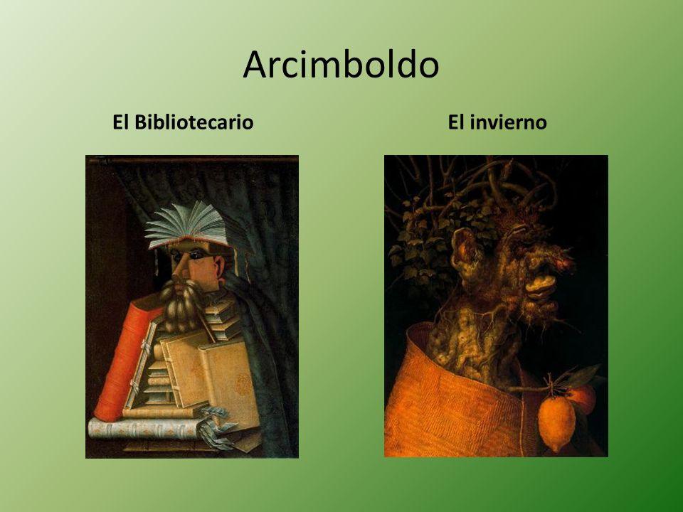 Arcimboldo El BibliotecarioEl invierno