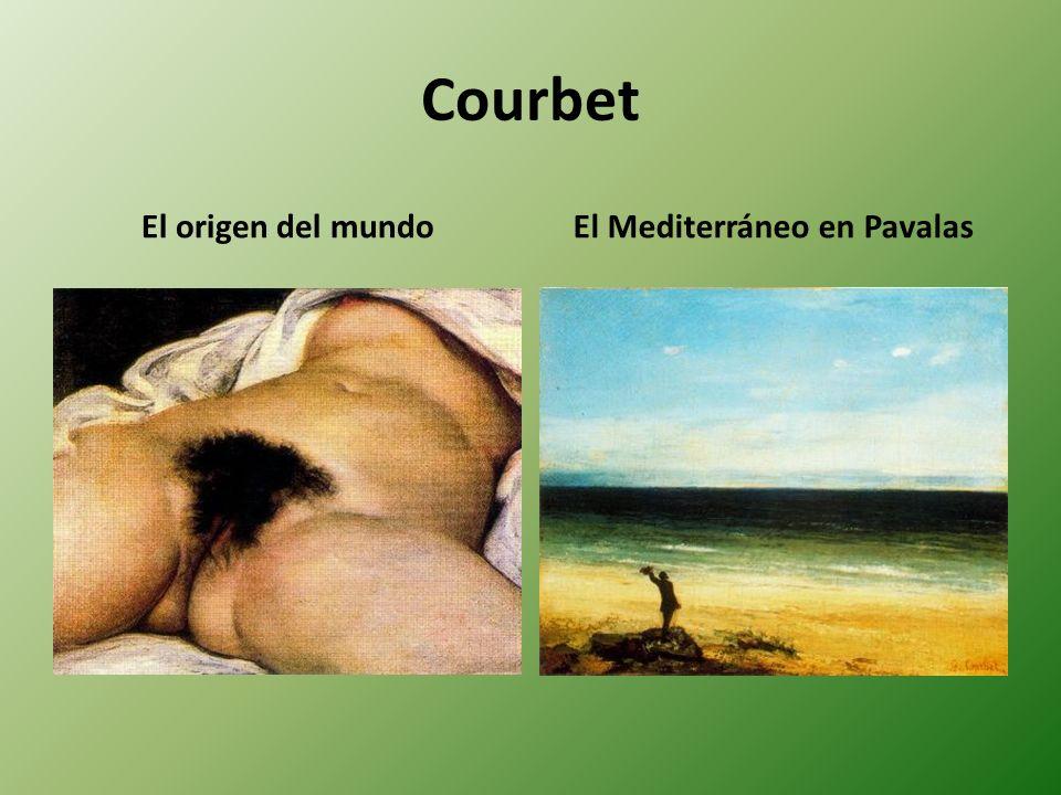 Courbet El origen del mundoEl Mediterráneo en Pavalas