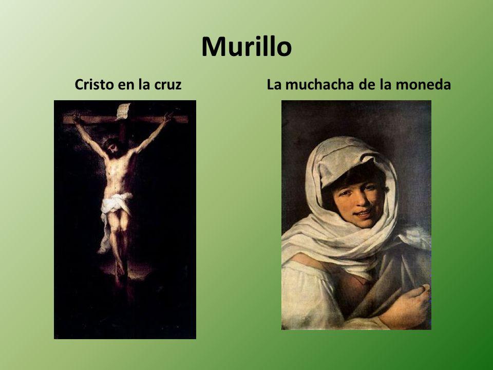 Murillo Cristo en la cruzLa muchacha de la moneda