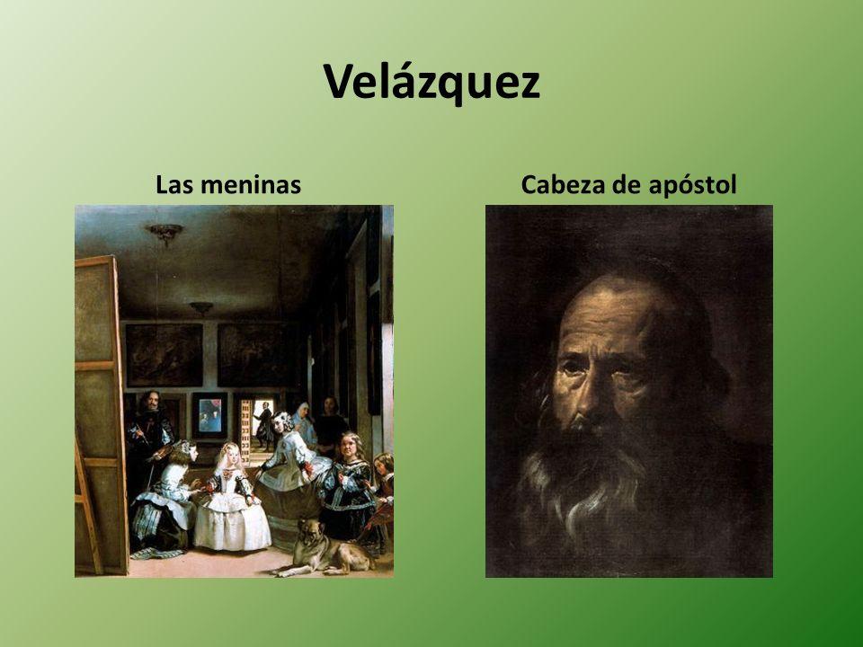Velázquez Las meninasCabeza de apóstol