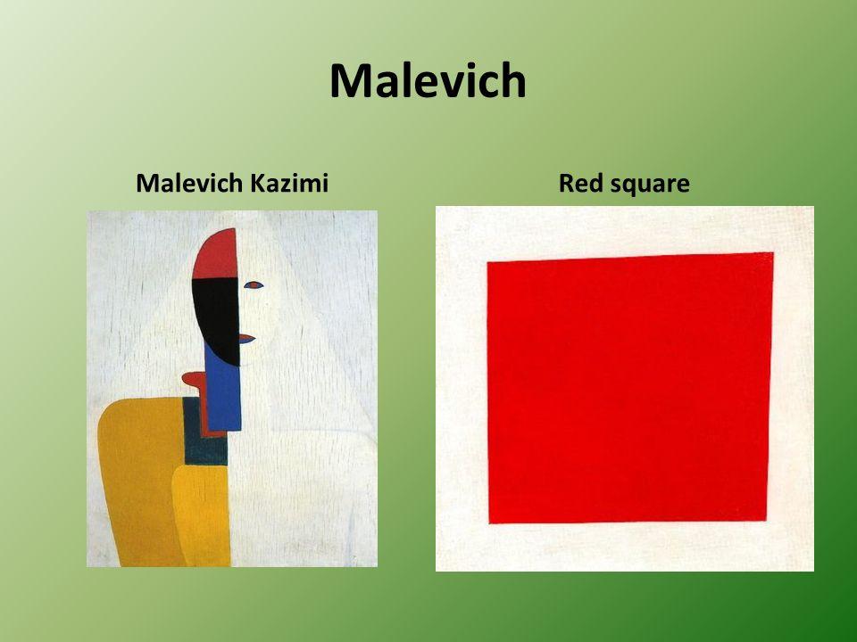Malevich Malevich KazimiRed square
