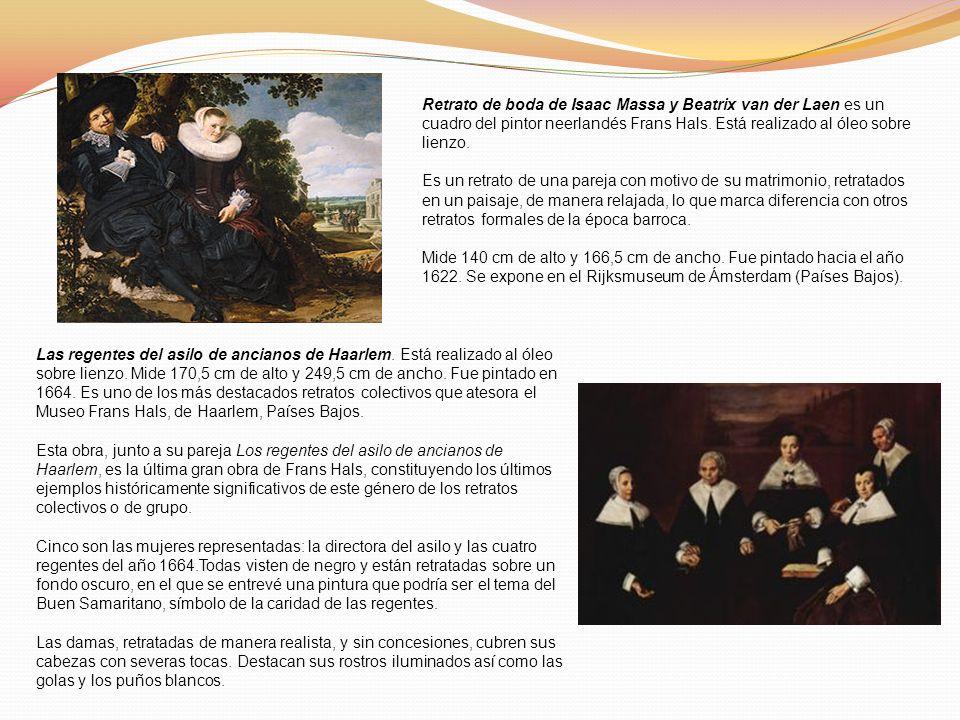 Retrato de boda de Isaac Massa y Beatrix van der Laen es un cuadro del pintor neerlandés Frans Hals. Está realizado al óleo sobre lienzo. Es un retrat