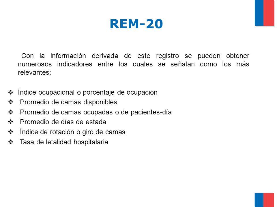 CONSIDERACIONES GENERALES PARA REALIZAR EL CENSO DIARIO DE CAMAS (REM-20) Diariamente se realiza el censo diario de camas y pacientes en cada una de las salas de hospitalización.