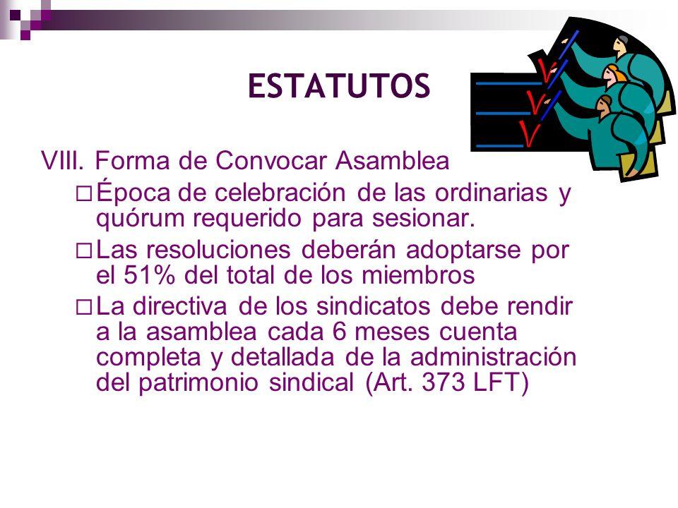 ESTATUTOS IX.