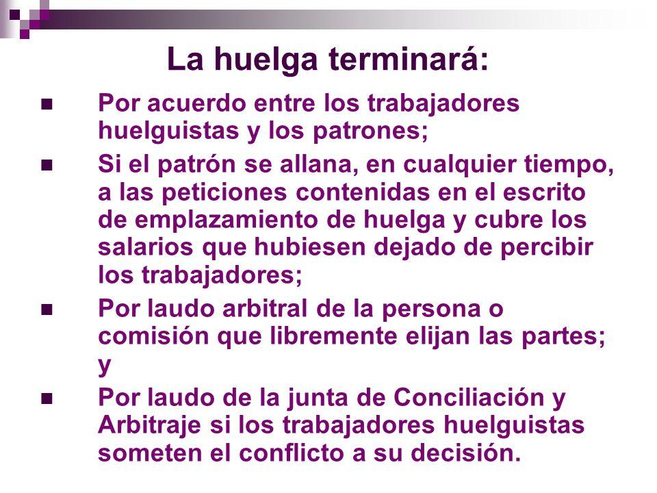 Procedimiento de Huelga I.
