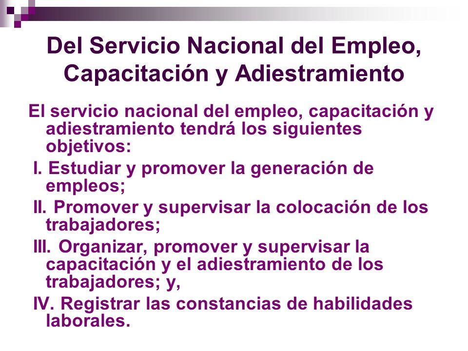 Inspección del Trabajo La inspección del trabajo tiene las funciones siguientes: I.