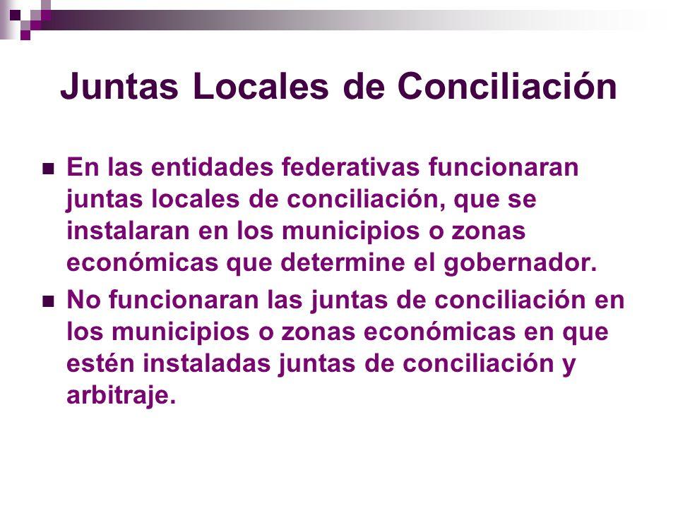 Junta Federal de Conciliación Arbitraje El pleno de la junta de conciliación y arbitraje tiene las facultades y obligaciones siguientes: I.