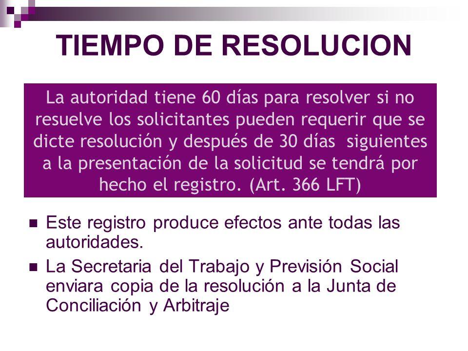 CANCELACION DEL REGISTRO El registro podrá cancelarse solo En caso de disolución Por dejar de tener los requisitos legales JCA resolverá acerca de la cancelación No puede existir una cancelación vía administrativa.