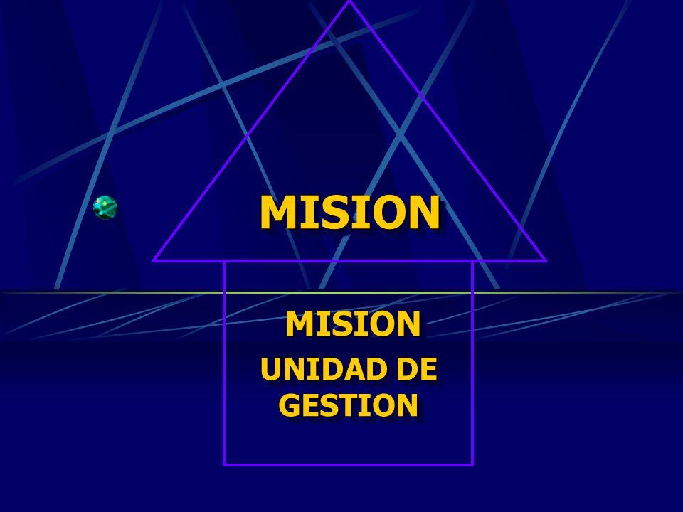 PREGUNTAS QUE DEBE RESPONDER LA MISION ¿ Por qué existe la institución? ¿ Qué función desempeña la institución? ¿ A quiénes satisface? (grupos de usua