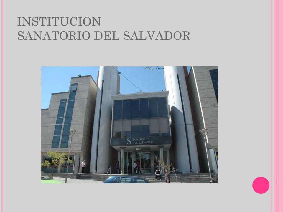 ACERCA DE LA INSTITUCION El Sanatorio del Salvador fue fundada en 1996 y desde sus inicios brinda servicio de salud especializado en la atención ambulatoria e internacion.