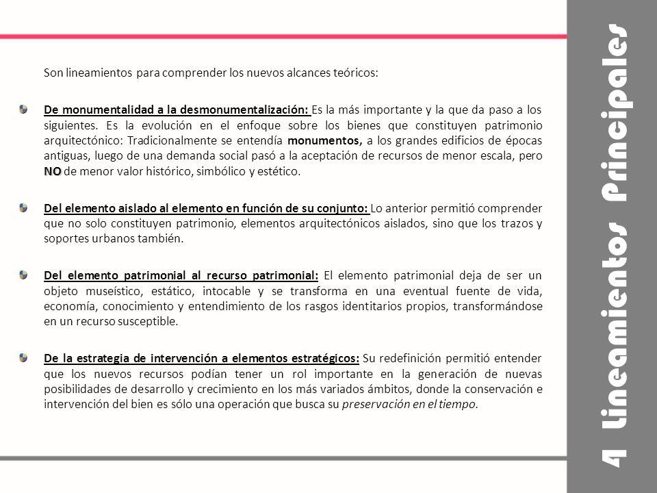 El llamado RESCATE DE OTROS y la definición de políticas de Estado para el crecimiento de las ciudades y su economía urbana.