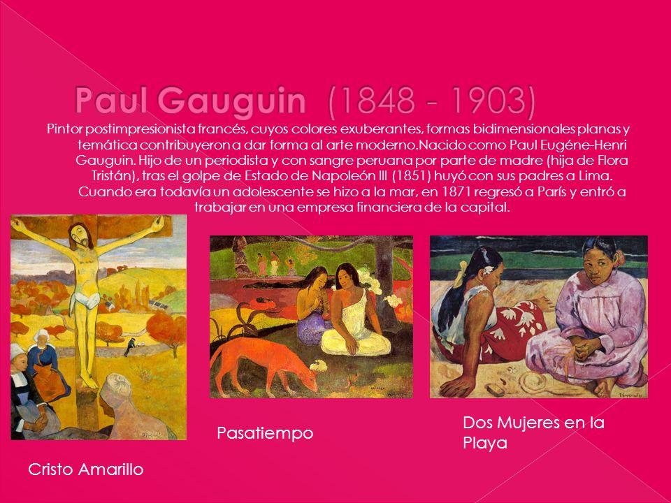 Pintor postimpresionista francés, cuyos colores exuberantes, formas bidimensionales planas y temática contribuyeron a dar forma al arte moderno.Nacido