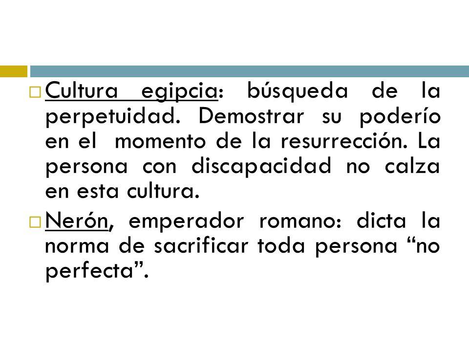 S.XVI: La discapacidad se ve como una situación de malevolencia.