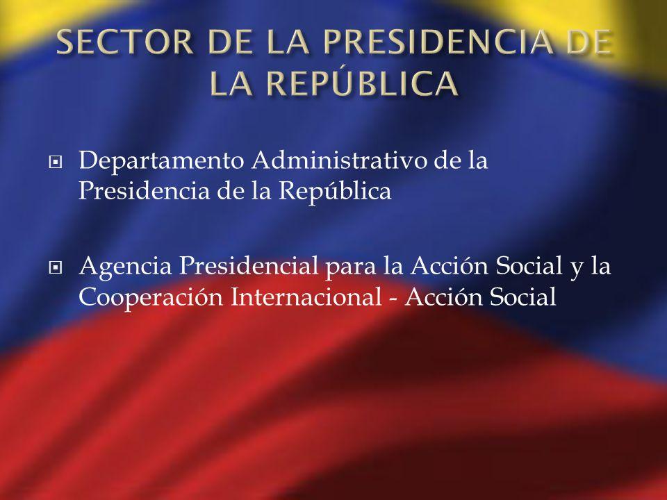 Departamento Administrativo de la Presidencia de la República Agencia Presidencial para la Acción Social y la Cooperación Internacional - Acción Socia