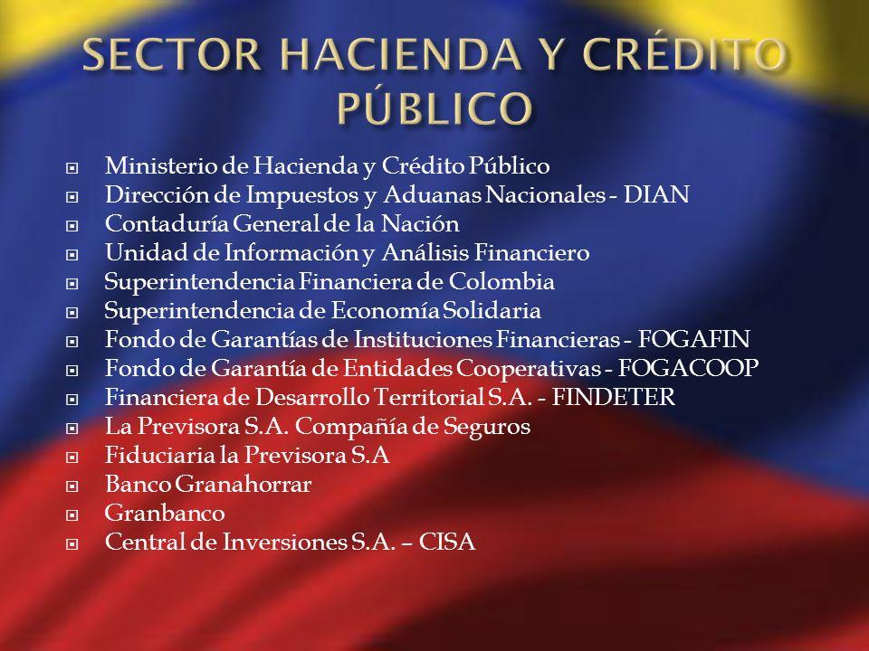 Ministerio de Hacienda y Crédito Público Dirección de Impuestos y Aduanas Nacionales - DIAN Contaduría General de la Nación Unidad de Información y An