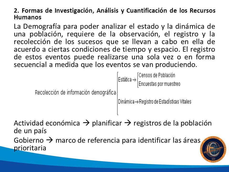 Principales fuentes de información estadística Censo: Constituye una actividad estadística de gran utilidad para el país.
