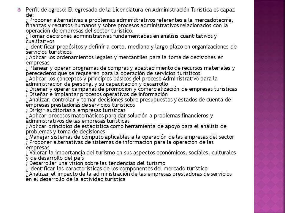 PERFIL PROFESIONAL DE EGRESO El egresado será capaz de: 1.
