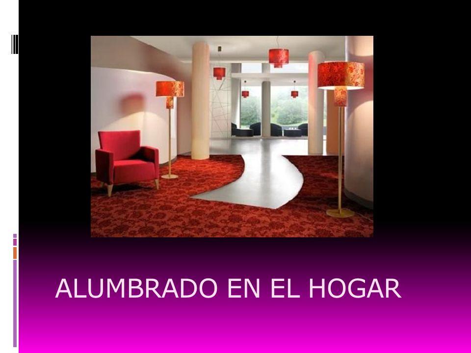 ALUMBRADO EN EL HOGAR