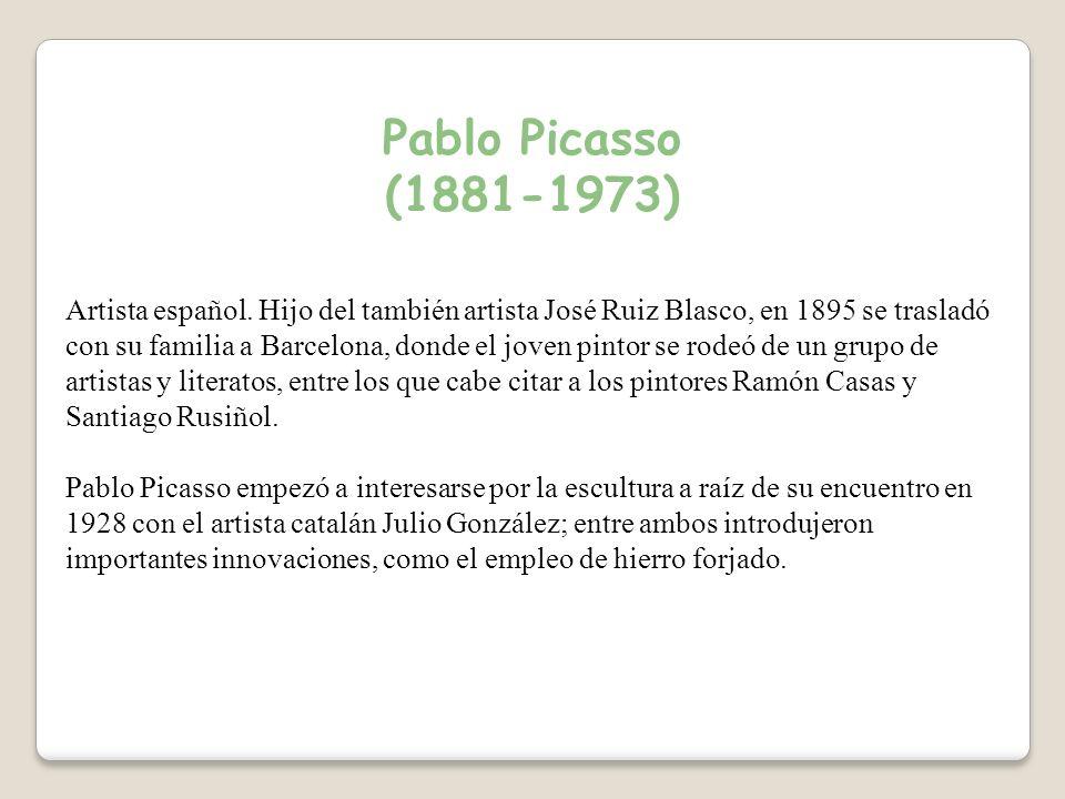 Pablo Picasso (1881-1973) Artista español.