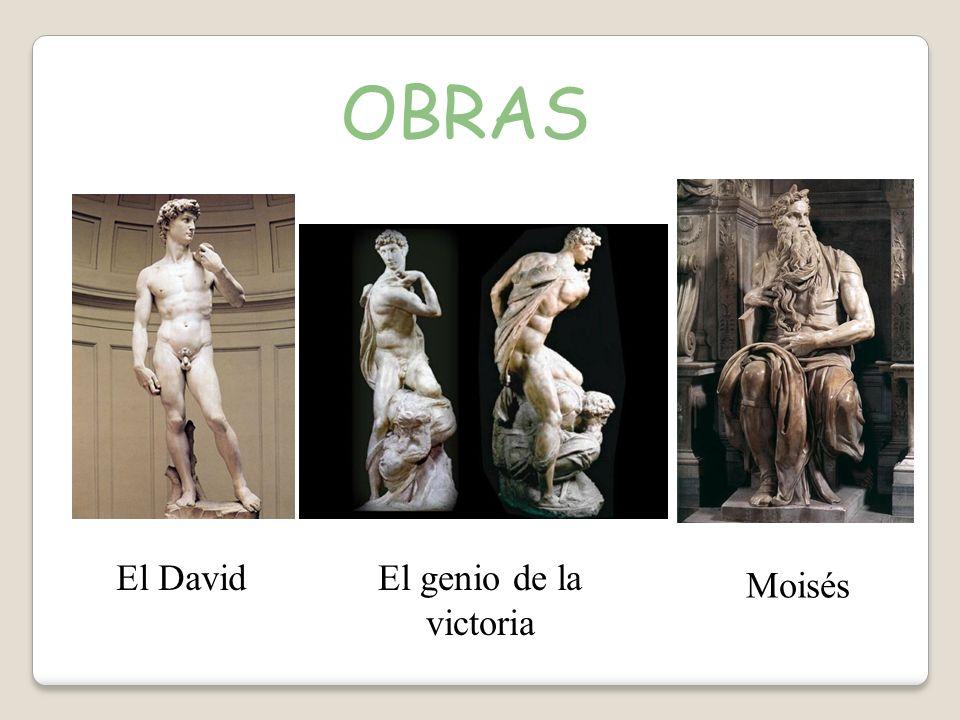 OBRAS El DavidEl genio de la victoria Moisés
