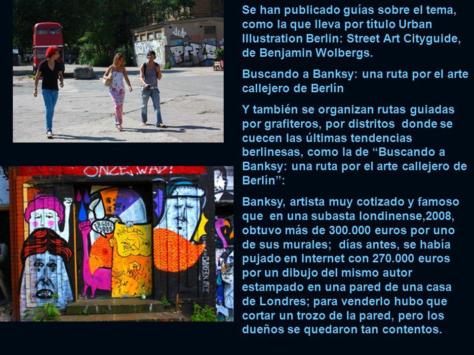 Se han publicado guías sobre el tema, como la que lleva por título Urban Illustration Berlin: Street Art Cityguide, de Benjamin Wolbergs.
